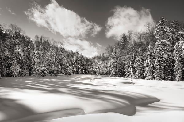 Adirondack Winter Rondaxe Rd Photography Art | Kurt Gardner Photogarphy Gallery