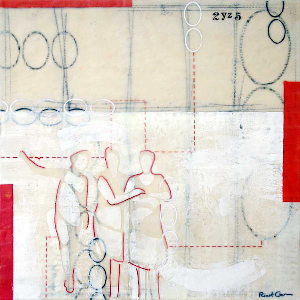 Connections II by artist Rinat Goren