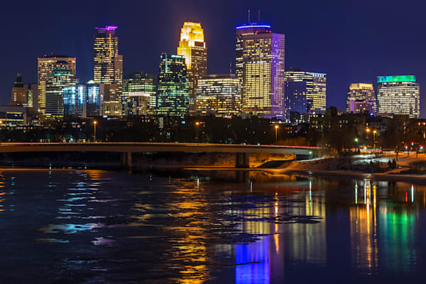 Purple Minneapolis 4 - Cityscape Minneapolis | William Drew