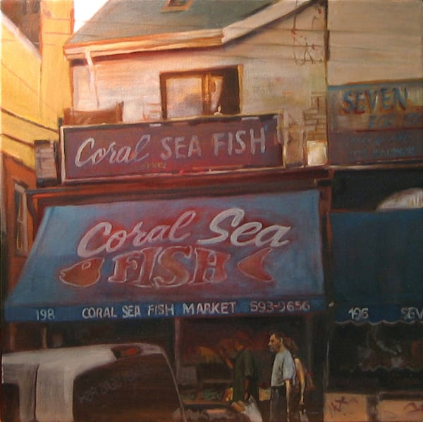 Coral Sea Fish - Original