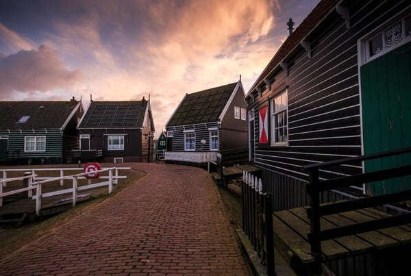 Rural 0064 Marken Fishing Village Photography Art | Sandra Jasmin