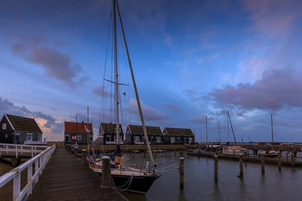 Rural 0055 Marken Fishing Village Photography Art | Sandra Jasmin