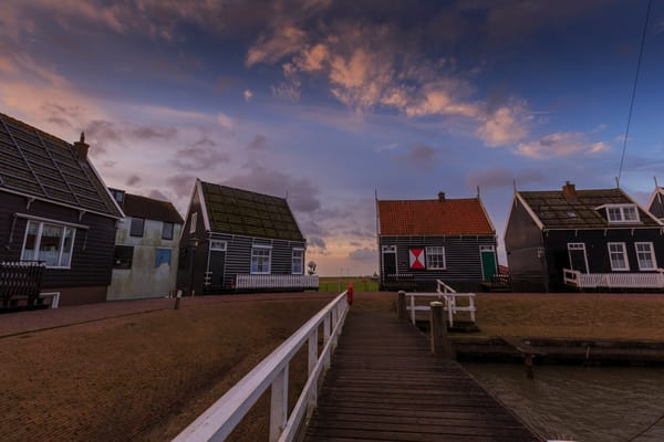 Rural 0010 Marken Fishing Village Photography Art | Sandra Jasmin