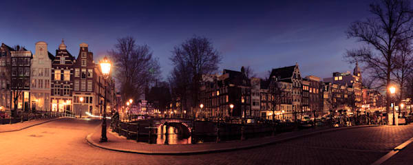 Amsterdam 0010 Panoramic Photography Art | Sandra Jasmin