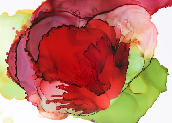 Burgandy Bloom
