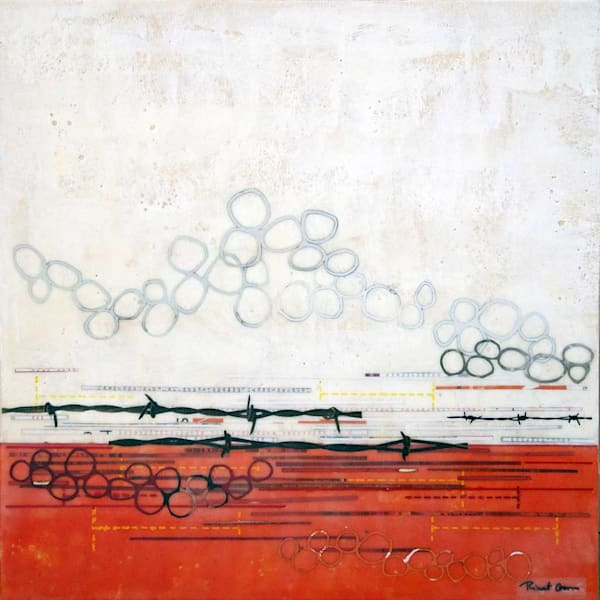 Cutting Your Own Fences I By Artist Rinat Goren