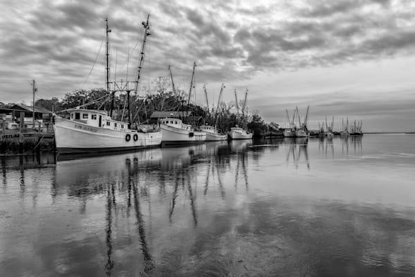 Darien Shrimp Boat Fleet