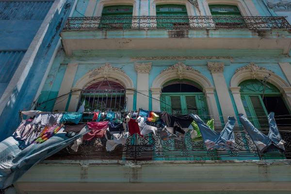 Cuba Laundry Day