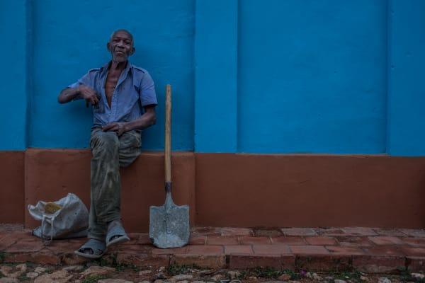 Cuba Trinidad Worker
