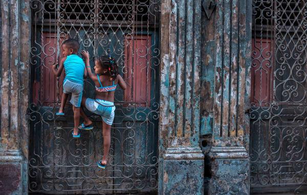 Cuba Havana Children