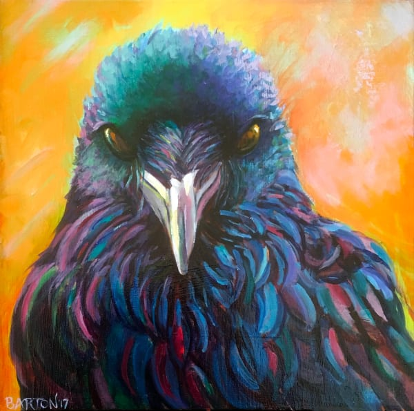 Randy's Raven Art | Laura Barton