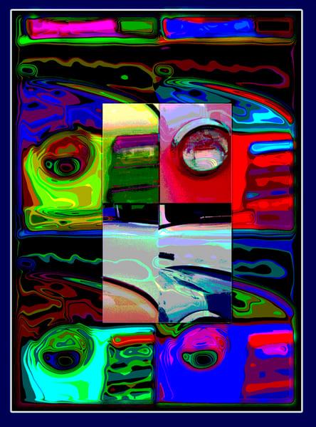"""Headlights  Pop Art"" Art | Digital Arts Studio / Fine Art Marketplace"