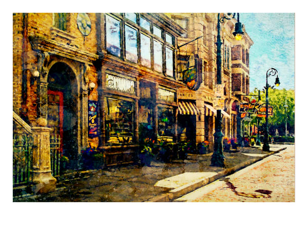 """Brooklyn Street Scene 2"" Art 
