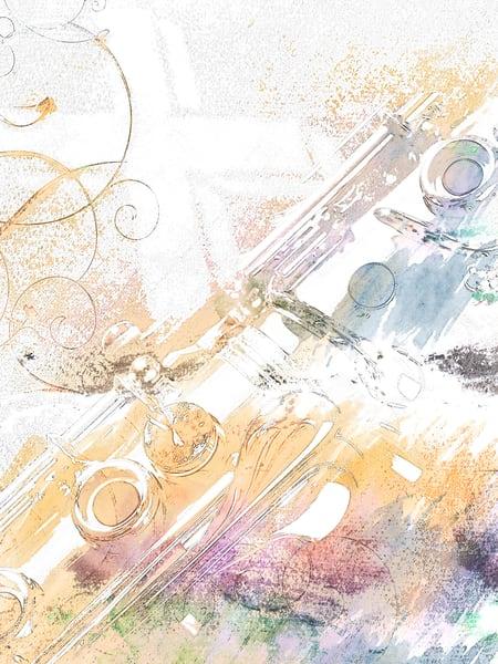 Music Instrument Clarinet Painting 9001.303