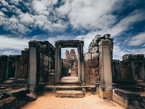 Phnom Bakheng ruins