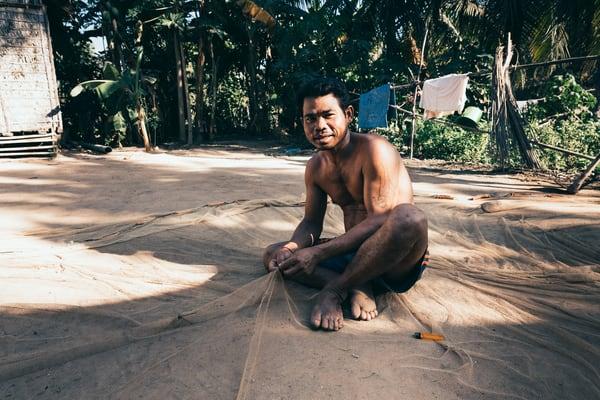 cambodia tonlesaplake rural
