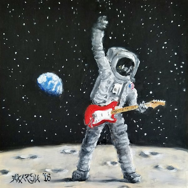 Moon Art, Paintings for Sale