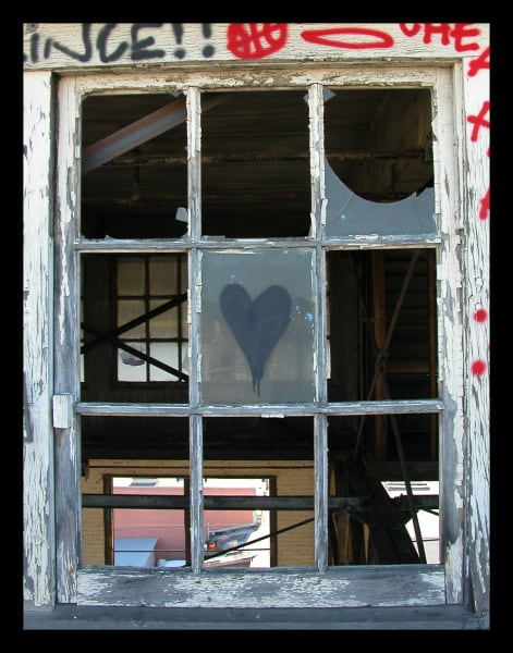 Black Heart In Love Photograph for Sale as Fine Art