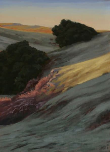 West Marin County oil painting by Terry Sauvé