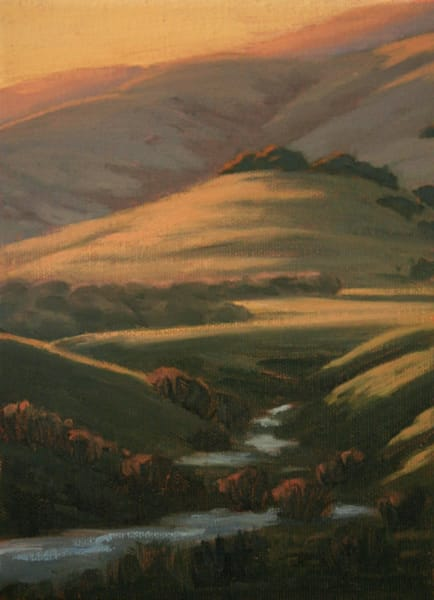 Chileno Valley original oil painting