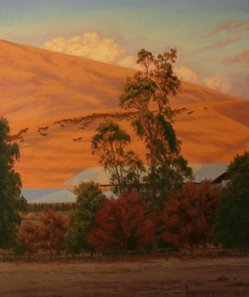 Rancho Strozzi In Fall Art | Terry Sauve Fine Art
