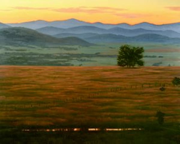 Sunset Prairie View Art | Terry Sauve Fine Art