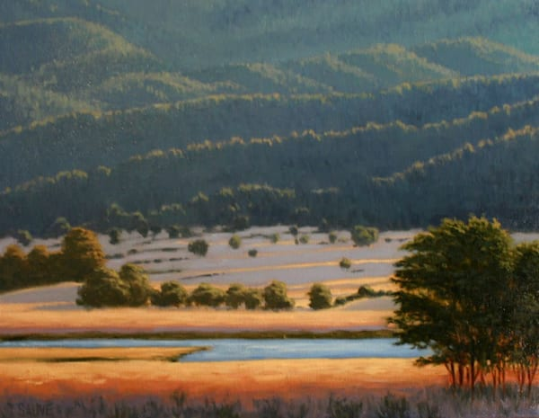 Northwest landscape oil painting
