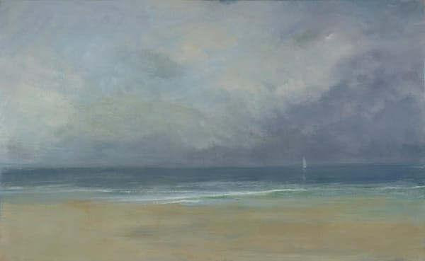 Giclée on canvas by Anne Packard - Distant View - Cape Cod