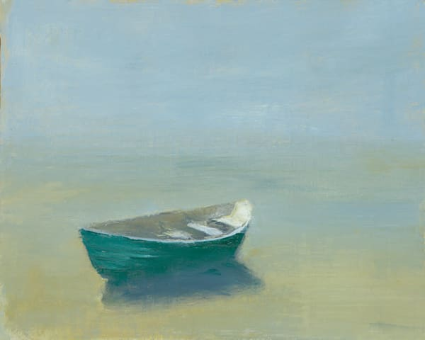 Anne Packard - Dory at Day Break - Cape Cod