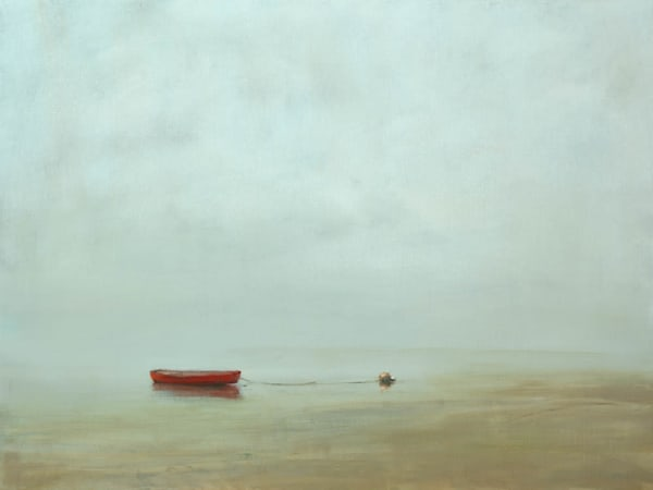 Province Town - Art Gallery by Anne Packard - Red Boat - Cape Cod