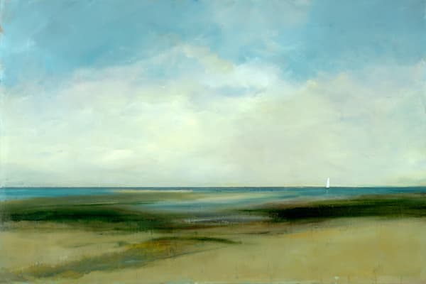 Anne Packard Print Gallery - Shoreline Sail  - Cape Cod