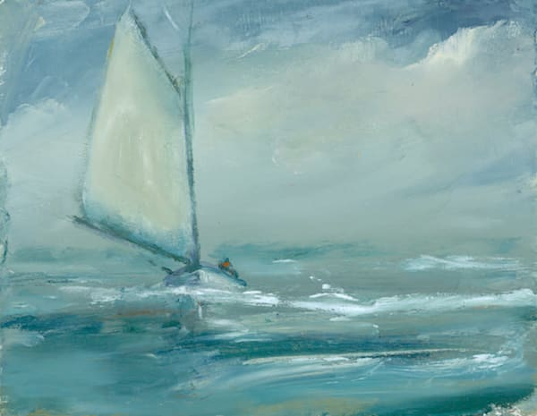 Anne Packard - Stormy Sail - Cape Cod
