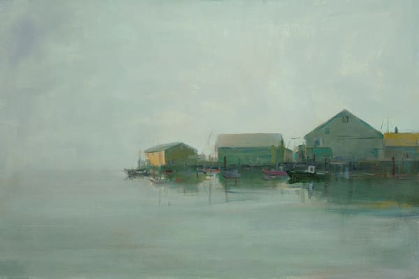 Wharf - Art Gallery by Anne Packard - Product Name - Cape Cod