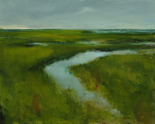Anne Packard Print Gallery - Tidal Marsh - Cape Cod