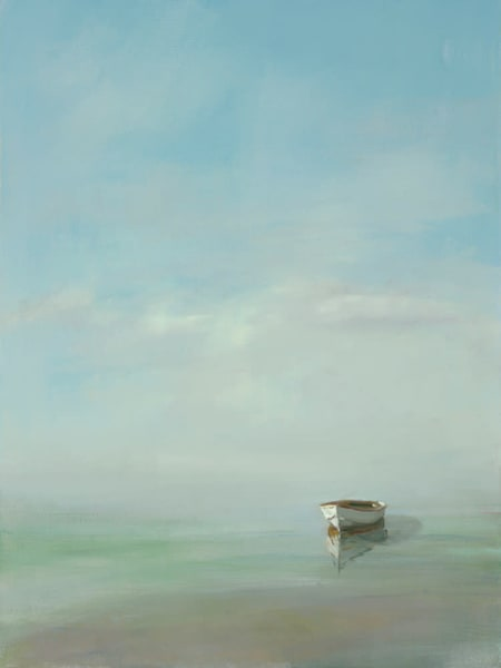 Giclée on canvas by Anne Packard - White Dory - Cape Cod