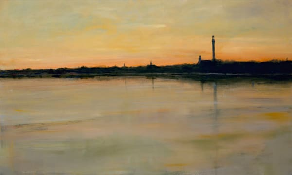 Provincetown Sunset Sm - Giclée on canvas - Limited Edition - by Anne Packard