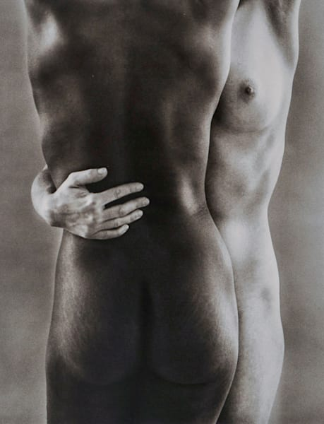 Ruth Bernhard Two Forms fine art photograph for sale at Stefani Fine Art