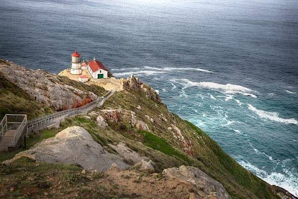 Daybreak, Point Reyes Lighthouse Art | The Carmel Gallery