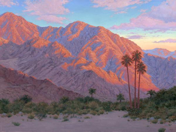 Morning Light In The Desert Art | Terry Sauve Fine Art