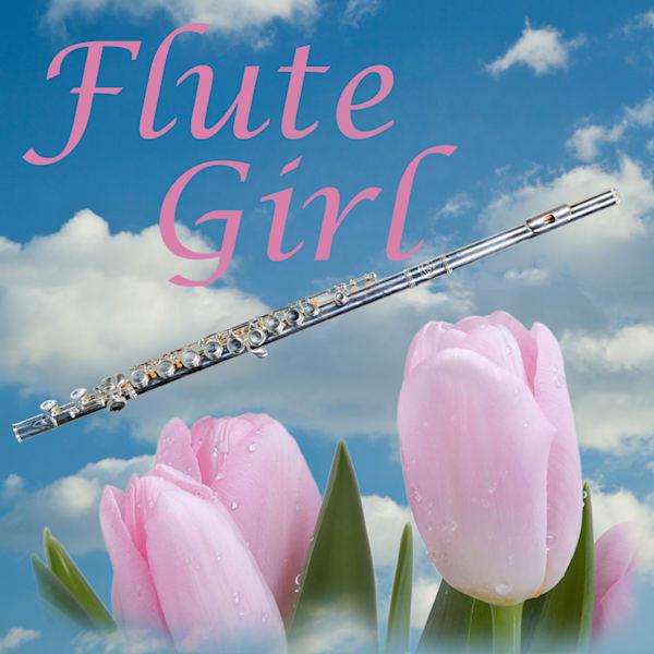 Flute Girl Poster 8001.704