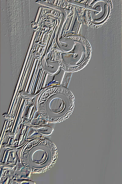 Metal Wall Art Embossed Flute 8001.413