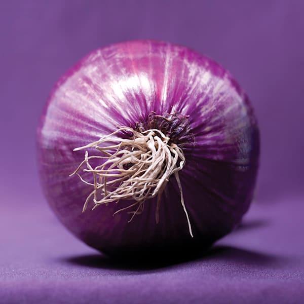 Red Onion Acrylic Block