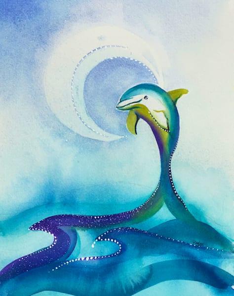 Dolphin Moon Dance