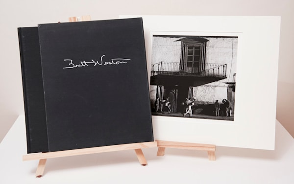 A Personal Selection: Brett Weston - Signed Limited Edition Print Set with Balcony Mexico fine art photograph