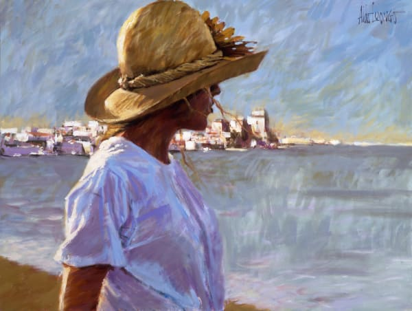Ocean Girl, fine art print, Aldo Luongo