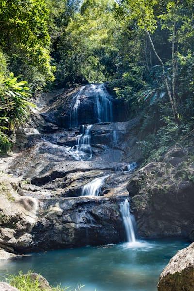Anse La Raye Falls, St Lucia