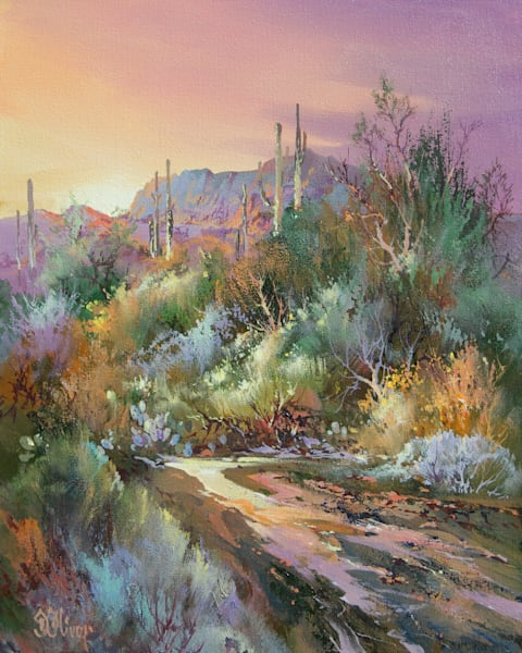Back Country Trail   Southwest Art Gallery Tucson