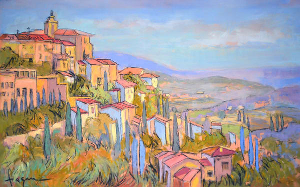 Provence France Landscapes Paintings, Prints by Dorothy Fagan