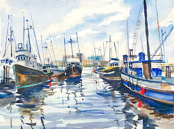 Victoria Harbor I fine art print by Bill Doyle.