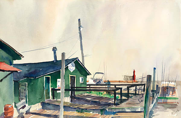 Fishing Shanty Algoma fine art print by Bill Doyle.